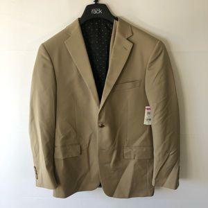 Hart schaffner Marx tan blazer size 35